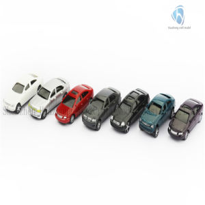 2016 New Scaled Plastic Model Car for Decoration