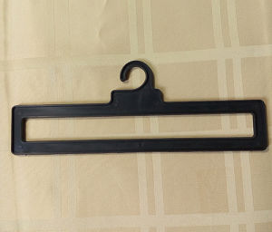 9.3 Inches Plastic Hanger with Bayonet for Shower Curtain