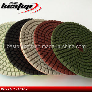 Premium Quality Countertop Used Wet Granite Stone Polishing Pads pictures & photos