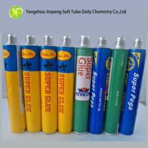 Aluminum Collapsible Tube for Super Glue pictures & photos