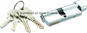 High Security Double Pins Groove Key Cylinder (C3370-161CP -291CP) pictures & photos