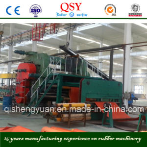Two Roll Rubber Calender Machine with ISO and Ce Certification pictures & photos