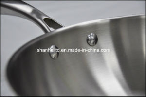 All-Clad Stainless Steel Wok pictures & photos