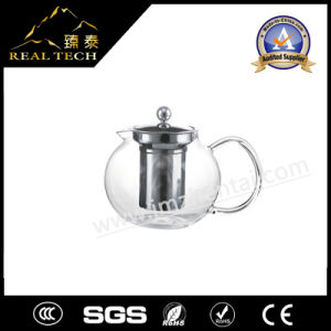 Classic Glass Teapot with Coil Filter - Borosilicate Glass