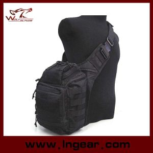 New Arrival Tactical Gear Nylon Shoulder Bag Military Bag Haversack pictures & photos