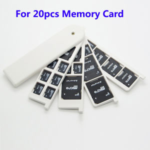 Universal All in One Memory Card Case for 20 PCS SD TF SIM CF Card pictures & photos
