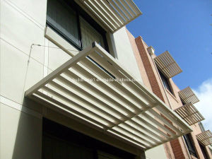 Anodized Aluminium Solar Shading pictures & photos