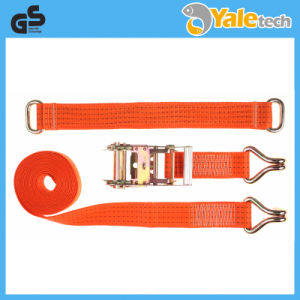 TUV/GS Certified Polyester Strap Ratchet Tie Down pictures & photos