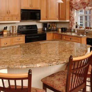 Giallo Veneziano Granite Kitchen Countertop pictures & photos