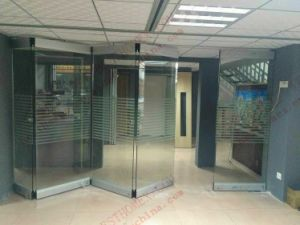 High Quality Durable Bi-Folding Glass Door (BHA-DBF16) pictures & photos