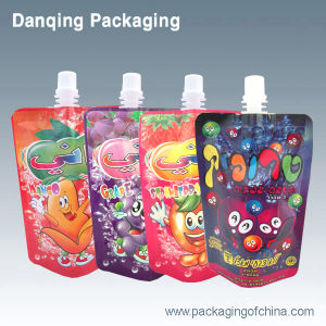 Beverage Pouch, Plastic Packaging (DQ0191) pictures & photos