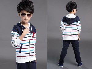 2015 New Arrival/ Casual Long Sleeve Leisure Suit Sports Suit for Boys Supplier OEM Wholesaler pictures & photos