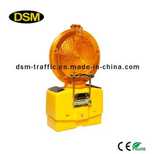 Solar Warning Lamp for Traffic (DSM-3T) pictures & photos