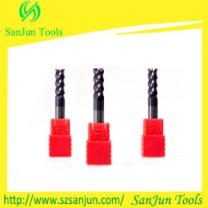 Factory Outlet CNC Tungsten Steel Solid Used Carbide Flat End Milling Cutter pictures & photos
