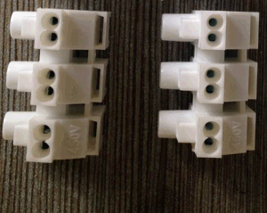 Ballast Terminal Blocks (push-in type) with Three Poles pictures & photos