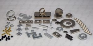 High Quanlity Block and Rectangular NdFeB Permanent Magnet for DC Motor, pictures & photos