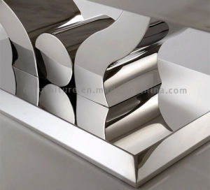Popular Big Stainless Steel Dining Table pictures & photos