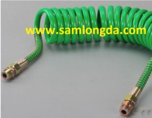 PU Truck Air Brake Hose Tube with M16 Fittings pictures & photos
