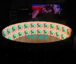 Full Color 360 Degree Curved LED Display of Indoor P6 pictures & photos