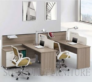American Workstation Designs Modern Space Saving Small Office Cubicles (SZ-WS608) pictures & photos