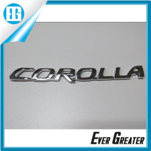 Customized Chrome Car Badge with ISO/Ts16949 Certified pictures & photos