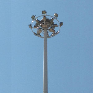 15m High Mast Lighting with 400W HPS Light pictures & photos