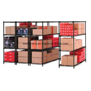 4 Layers Medium Duty Steel Storage Rack for Warehouse pictures & photos