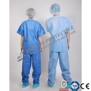 Disposable Nonwoevn Surgical Uniform, Surgical Suits Disposable pictures & photos
