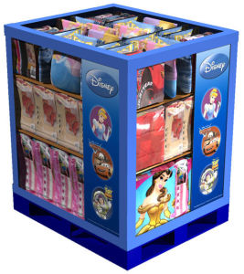 Cartoon Printing Paper Cardboard Pallet Display Box pictures & photos