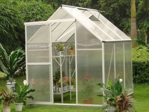 UV Polycarbonate Sheet Greenhouse Material Used Plastic Greenhouse