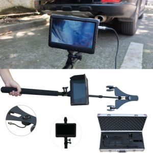 2m Telescopic Survey Pole and Universal Wheel Dual Camera System 7 Inch DVR Video Inspection Camera System pictures & photos