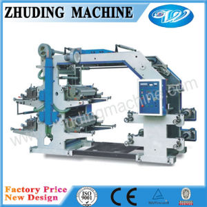 2016 4 Color Automatic Non Woven Bag Flxeo Printing Machine pictures & photos