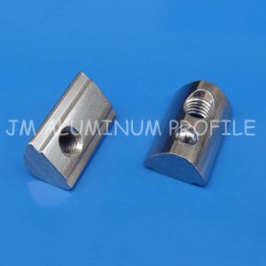 Spring Ball Nut, T-Slot Nut, Half Round Nut for Aluminum Profile pictures & photos