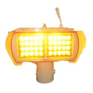 Traffic Warning Light Amber Solar Flashing Light pictures & photos