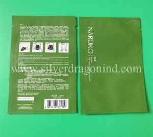 Custom Vacuum Package Bag for Facial Mask Bag pictures & photos