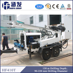 High Quality Small DTH Drill Rig Hf410t, Trailer Type pictures & photos