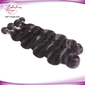 Supply Best Quality Fabulous Hair Full Cuticle Body Wave Virgin Brazilian Hair pictures & photos