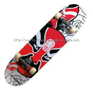 31 Inch Wood Skateboard (YV-3108) pictures & photos
