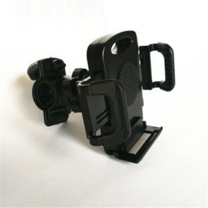 360 Degree Rotating 17-23mm Adjustable Diameter Screw Button Fixed Mobile Phone Universal Bike Holder pictures & photos