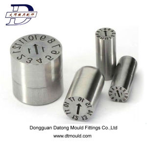 Date Stamps of Mold Parts for Plastic Injection Mold pictures & photos