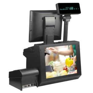 Channel Way Fourth Generation Complete Set POS Machine pictures & photos
