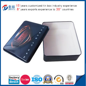 Super Man Tin Box Rectangle Shape Packaging Metal Box pictures & photos