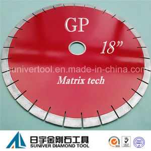 "Gp 18""*20mm Amazing Diamond Granite Cutting Saw Blade pictures & photos"