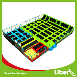 Customized Design Liben Indoor Trampoline Park with Basketball Hoops pictures & photos