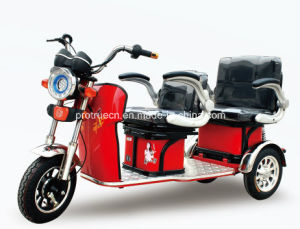 Electric Leisure Tricycle with Passenger Seat pictures & photos