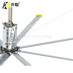 Hvls Energy-Saving Large 8 Blades Fan Warehouse Cooling Industrial Ceiling Ventilation Fan