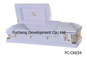 High Stable Quality Competitive Price Metal Funeral Coffin (FC-CK034) pictures & photos