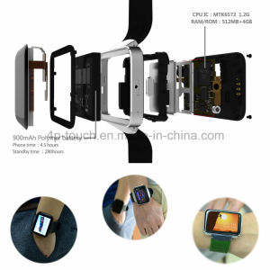 3G WiFi Wrist Smart Watch Phone with Big Touch Screen Dm98 pictures & photos