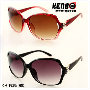 New Design Fashion Plastic Sunglasses for Lady CE FDA Kp50848 pictures & photos