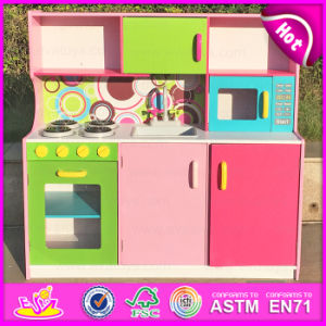 2015 Wood Toy Kitchen Set, Kids′ Wooden Toy Kitchen, Mini Wooden Kitchen Toy Set, Wooden Kitchen Set Toy for Baby W10c173 pictures & photos